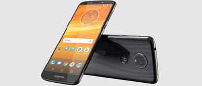 Недорогие смартфоны Moto E5 и E5 Plus получат премиальный дизайн из стекла и металла. Фото