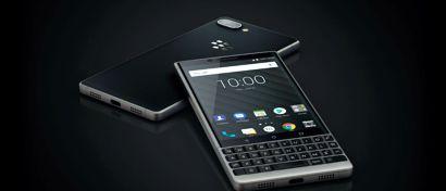 Blackberry выпустила кнопочный «самый защищенный в мире» смартфон на Android. Фото