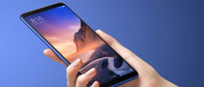 Вышел недорогой смартфон Xiaomi Mi Max 3 с огромными экраном и батареей. Цены