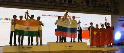 Россия завоевала 4 медали на Всемирной олимпиаде роботов