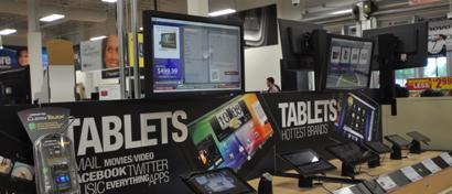 Европейский рынок планшетов спасли от краха самые дорогие устройства