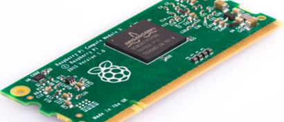 Производители разогнали «компьютерный модуль» Raspberry Pi в 10 раз