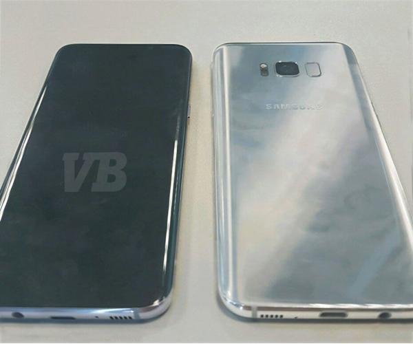 Всеть попал «живой» снимок Самсунг Galaxy S8