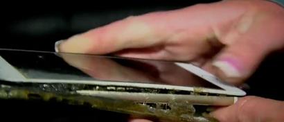 Загоревшийся глухой ночью iPhone 6 Plus чуть не сжег целый дом. Видео