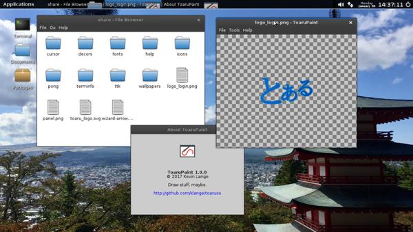 Представлена новая ОС ToaruOS, созданная набазе Linux