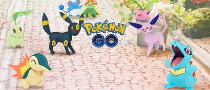 Состоялось крупнейшее за всю историю игры обновление Pokemon Go. Добавлены 80 монстров