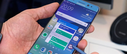 Samsung возвращает в продажу «самовзрывающийся смартфон» Galaxy Note 7