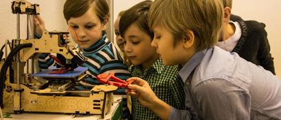 В России создан 3D-принтер для детей