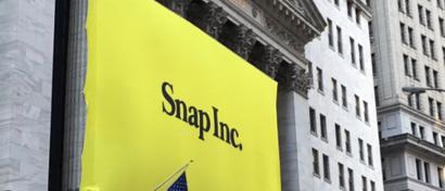 Создатели убыточного Snapchat разбогатели на IPO на $3,2 млрд