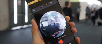 Выпущен первый смартфон, который фотографирует во все стороны сразу. Видео