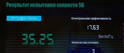 «Мегафон» побил рекорд скорости в сети 5G