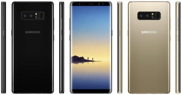 Инсайдеры афишировали  характеристики Самсунг  Galaxy Note 8