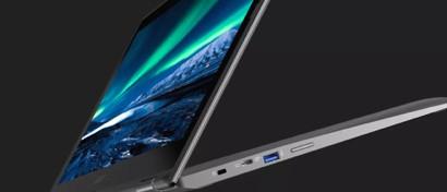Acer выпустила первый Chromebook-трансформер с диагональю 15,6 дюймов