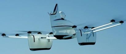 Основатель Google выпустил летающий кабриолет. Видео