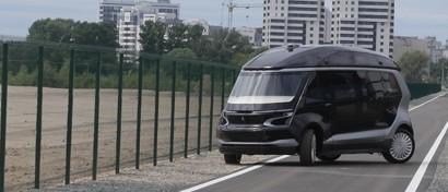 КАМАЗ и «Мегафон» выпустили беспилотный электромобиль, работающий в сети 5G. Фото. Видео