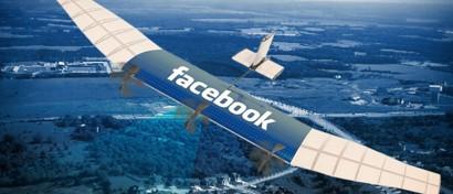 Facebook отказался от экстравагантного проекта раздачи интернета с дронов