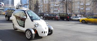 На дороги выходит российский электрокар с режимом беспилотника