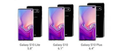 Рассекречены изображения всей линейки будущих флагманов Samsung Galaxy S10