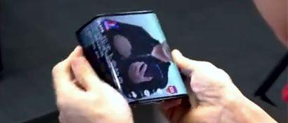 Xiaomi впервые показала свой гибкий смартфон. Видео