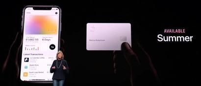Apple выпускает банковскую карту без платы за обслуживание, но с кэшбеком