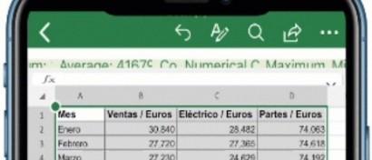 iPhone научили переводить в Excel фото бизнес-документов