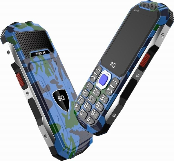 Для русских военнослужащих создан доступный кнопочный телефонBQ 2432 TankSE