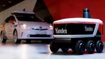 «Яндекс» разработал беспилотного самоходного робота-курьера