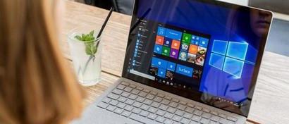 Microsoft запустила в Windows 10 бегущую новостную строку