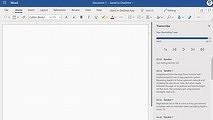Microsoft Word научился переводить речь в текст в реальном времени