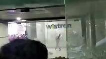Недовольные зарплатой рабочие устроили погром на фабрике по сборке iPhone