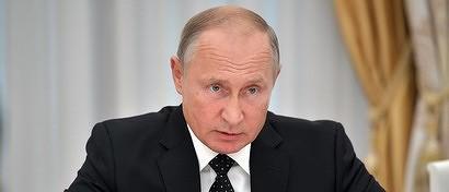 Путин распорядился усложнить жизнь в России для Facebook и Twitter