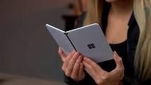 Microsoft радикально улучшит свой революционный Android-смартфон с двумя экранам