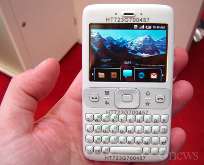 представили мобильные телефоны на базе открытой платформы Google Android