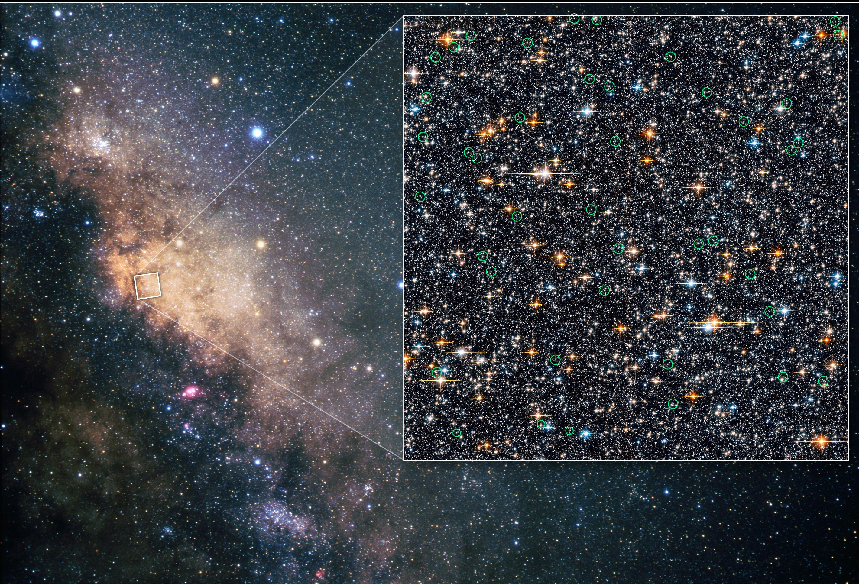 какие звёзды находятся в нашей галактике