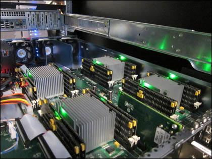 Новая энергонезависимая память в 1000 раз быстрее HDD