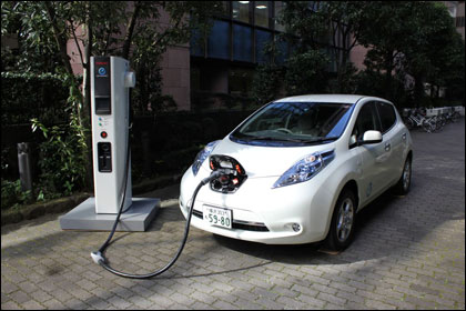 Электромобиль можно зарядить за 30 минут на 80 процентов