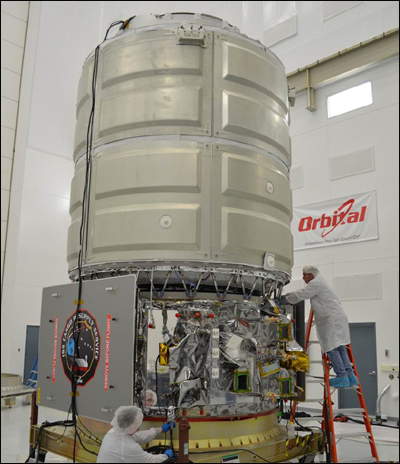 Новый частный корабль достиг МКС
