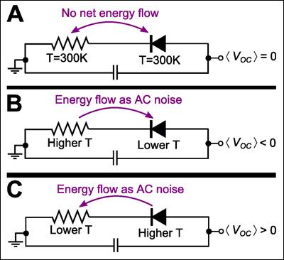 Электрическая схема устройств