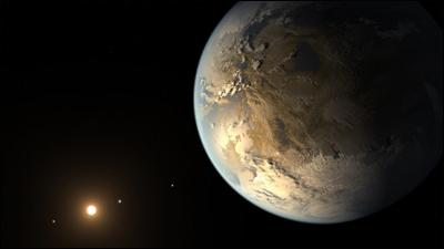 Кеплер обнаружил землеподобную планету в обитаемой зоне