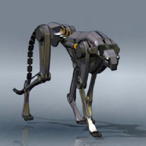 Робот-гепард научился бегать по траве