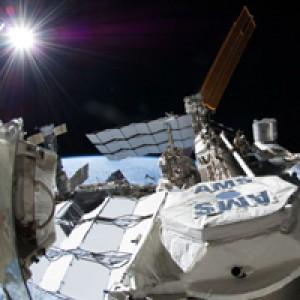 На МКС нашли следы темной материи