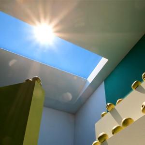 Наносветильник приносит cолнце в дом