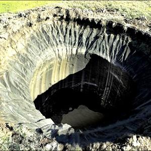 В Сибири множатся странные провалы грунта