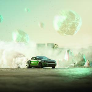 Автогонщик протестировал виртуальный гоночный трек