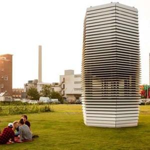 Поглотитель смога создает здоровую среду и ювелирные украшения