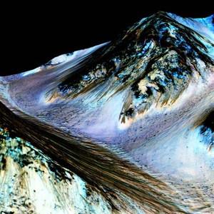Найденная на Марсе вода может служить основой уникальной жизни