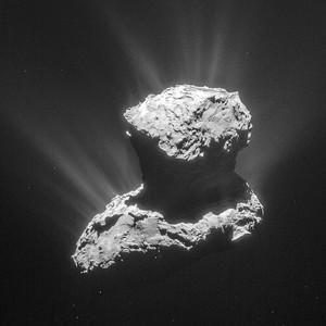 Кислород вокруг кометы 67P стал загадкой для ученых