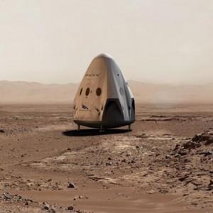 Корабль Dragon от SpaceX отправится на Марс уже в 2018 году