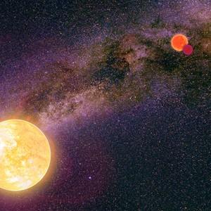 Российские астрономы обнаружили неизвестный радиосигнал из далекой звездной системы
