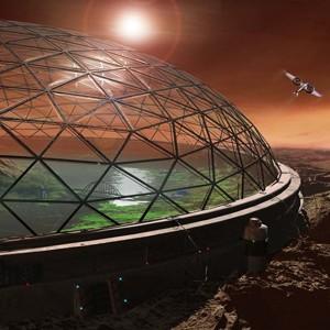 Под куполами будут яблони цвести... Илон Маск рассказал о планах колонизации Марса